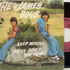 Discos de vinilo: EP 45 RPM / THE JAMES BOYS / KEEP MOVING /// EDITADO POR PENNY PARTHING . Lote 17572950