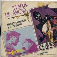 Discos de vinilo: HENRY SALOMON / THE SHADOW OF YOUR SMILE / CANCION DE ORFEO (SINGLE DE 1973). Lote 3838766