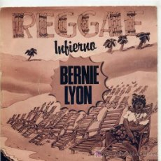 Discos de vinilo: BERNIE LYON / HELL / WHITE FISH (SINGLE DE 1980). Lote 3879178