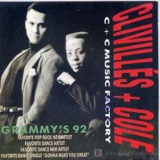 Discos de vinilo: CLIVILLES & COLE / A DEEPER LOVE (SINGLE PROMO 92). Lote 3884600