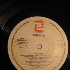 Discos de vinilo: MARISOL / LP ZAFIRO 1978. Lote 27546766