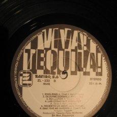 Discos de vinilo: TEQUILA / VIVA TEQUILA / ZAFIRO 1980. Lote 26628698