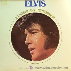 Discos de vinilo: ELVIS PRESLEY - A LEGENDARY PERFORMER LP PROMOCIONAL VOLUMEN 2 EDITADO EN USA POR RCA EN 1976. Lote 3896358