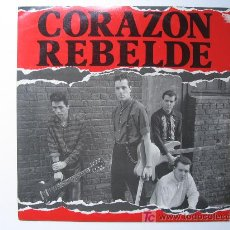 Discos de vinilo: CORAZÓN REBELDE - BARCELONA - DRO 1983 ( MÁXI SINGLE - 45 R.P.M. ). Lote 27435343