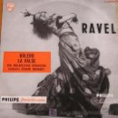 Discos de vinilo: RAVEL / MINIGROOVE PASTA PHILIPS 33 1/3 RPM / 10 PULG. (25 CM.). Lote 27637831
