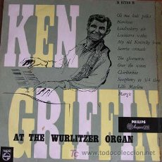 Discos de vinilo: KEN GRIFFIN / MINIGROOVE PHILIPS PASTA / 33 1/3 RPM / 10 PULGADAS. Lote 26403415