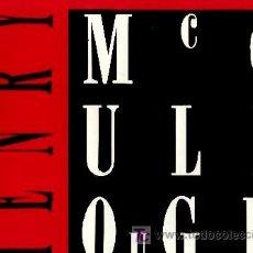 Discos de vinilo: HENRY MCCULLOUGH ··· CUT - (LP 33 RPM) ··· NUEVO (VINILO BLANCO) ··· (EX - WINGS). Lote 23472788