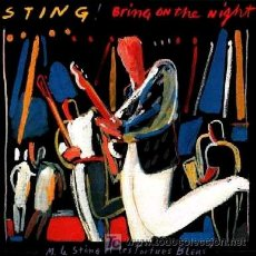 Discos de vinilo: STING ··· BRING ON THE NIGHT - (LP DOBLE 33 RPM). Lote 23393088