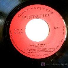 Discos de vinilo: CUENTOS - 1969 - PINOCHO Y PULGARCITO. Lote 6901943