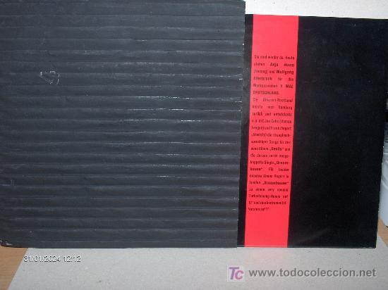 X MAL DEUTSCHLAND ---- DREAMHOUSE (Música - Discos de Vinilo - Singles - Pop - Rock Extranjero de los 80)
