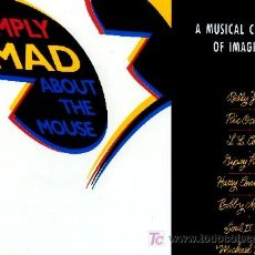 Discos de vinilo: SIMPLY MAD ABOUT THE MOUSE ··· VARIOS - (LP 33 RPM) ··· NUEVO. Lote 23786020
