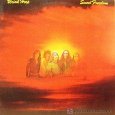 Disques de vinyle: URIAH HEEP-SWEET FREEDOM LP CON DOBLE PORTADA EDITADO POR ISLAND EN 1973. Lote 3966439