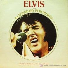 Discos de vinilo: ELVIS PRESLEY - A LEGENDARY PERFORMER LP RARO PROMOCIONAL VOLUMEN 1 EDITADO POR RCA EN 1974. Lote 3967871