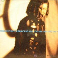 Discos de vinilo: TERENCE TRENT D´ARBY-DO YOU LOVE ME LIKE YOU SAY MAXI SINGLE VINILO EDITADO POR COLUMBIA EN 1993. Lote 3981606