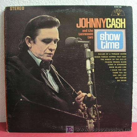 JOHNNY CASH AND THE TENNESSEE TWO ( SHOW TIME ) USA LP33 (Música - Discos - LP Vinilo - Country y Folk)