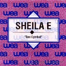 Discos de vinilo: SHEILA E. ··· SEX CYMBAL - (SINGLE 45 RPM) ··· NUEVO. Lote 22559756