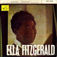 Discos de vinilo: ELLA FITZGERALD - STARDUST + 3 E.P. RARO EDITADO POR LA VOZ DE SU AMO EN 1963. Lote 4048505
