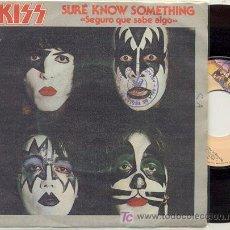 Discos de vinilo: SINGLE 45 RPM / KISS / SEGURO QUE SABE ALGO /// EDITADO POR CASABLANCA ESPAÑA . Lote 14360553