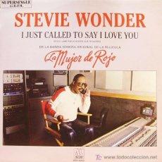 Discos de vinilo: STEVIE WONDER-I JUST CALLED TO SAY I LOVE YOU MAXI SINGLE VINILO EDITADO POR MOTOWN EN 1984. Lote 4049871