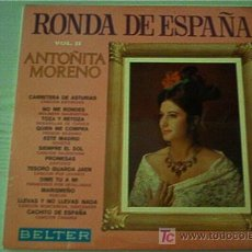 Discos de vinilo: LP ANTOÑITA MORENO. . Lote 5353359