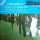 Discos de vinilo: FINLANDIA: MUSIC OF SIBELIUS. MORTON GOULD. AÑO: 1964.. Lote 4134515