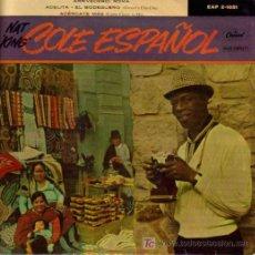 Discos de vinilo: NAT KING COLE-ARRIVEDERCI ROMA + 3 EP VINILO RARO EDITADO POR CAPITOL EN 1958. Lote 4097775