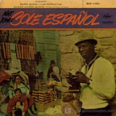 Discos de vinilo: NAT KING COLE-CACHITO + 3 EP VIINLO RARO EDITADO POR CAPITOL EN 1958. Lote 4097780