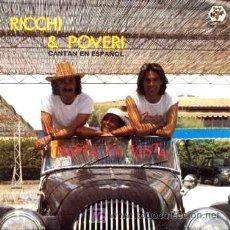 Discos de vinilo: RICCHI & POVERI ··· HASTA LA VISTA / ACAPULCO - (SINGLE 45 RPM) - NUEVO ··· CANTAN EN ESPAÑOL. Lote 24627809