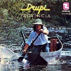 Discos de vinilo: DRUPI ··· PROVINCIA / GENTE - (SINGLE 45 RPM). Lote 24672974