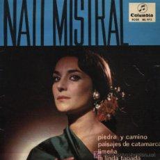 Discos de vinilo: NATI MISTRAL - PIEDRA Y CAMINO . Lote 38121172