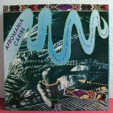 Discos de vinilo: AFROMANIA CARIBE ' WILFRIDO VARGAS, OSCAR D'LEON, PORFI JIMENEZ, ARROW, JOE ARROYO ' 1989. Lote 4180880