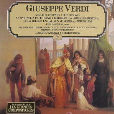 Discos de vinilo: GIUSEPPE VERDI .. LP. Lote 20875267