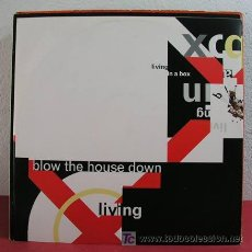 Discos de vinilo: LIVING IN A BOX ( BLOW THE HOUSE DOWN 3 VERSIONES - DANCE THE MAYONNAISE ) 1989. Lote 4184408
