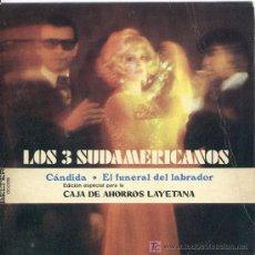 Discos de vinilo: LOS TRES SUDAMERICANOS / ROY ETZEL. Lote 27293994