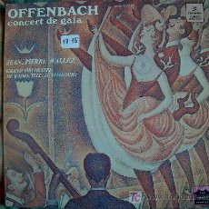 Discos de vinilo: LP - OFFENBACH - CONCIERTO DE GALA - GRAN ORQUESTA DE RADIO TELE LUXEMBURGO, DR. JEAN PIERRE WALLEZ. Lote 4217804