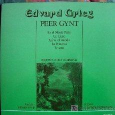 Discos de vinilo: LP - EDVARD GRIEG - PEER GYNT - ORQUESTA NUEVA FILARMONIA, DR. ANDREW DAVIS. Lote 4218474