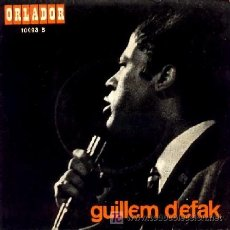Discos de vinilo: GUILLEM D'EFAK · ADEU, ANDREU / AVEMARÍA DE ROBINES / NO ME SAP ... - (EP 45 RPM) · EDICIÓN ESPECIAL. Lote 25166466
