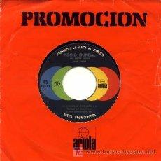 Discos de vinilo: ROCIO DURCAL ··· ME GUSTAS MUCHO / LA MUERTE DEL PALOMO - (SINGLE 45 RPM). Lote 25639985