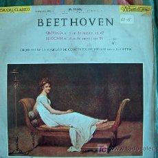 Discos de vinilo: LP - BEETHOVEN - SINFONIA Nº 5 Y Nº 8 - ORQUESTA DE LA SOCIEDAD DE CONCIERTOS DE VIENA, DR. KARL RIT. Lote 4264875