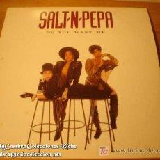 Discos de vinilo: DISCO LP SALT- N- PEPA DO YOU WANT ME AÑO 1988. Lote 4269068