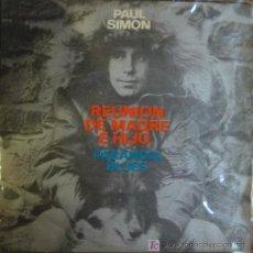 Discos de vinilo: PAUL SIMON:REUNION DE MADRE E HIJO & PARANOIA BLUES. 1972.. Lote 4270154