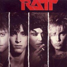 Discos de vinilo: RATT DISCO LP DANCING UNDERCOVER CON ENCARTE DISCO ESPAÑOL. Lote 9906272