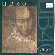 Discos de vinilo: UB40 - COME OUT TO PLAY / CONTAMINATED MINDS - SINGLE INGLÉS DE 1988. Lote 4286813