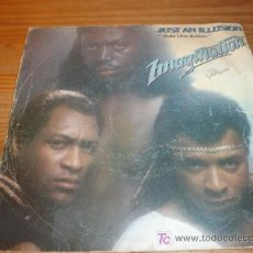 Discos de vinilo: ANTIGUO DISCO SINGLE IMAGINATION, JUST AN ILLUSION, AÑO 1982. Lote 4295165