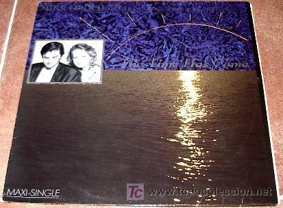 MIKE OLDFIELD - FEATURING ANITA HEGERLAND - THE TIME HAS COME (Música - Discos de Vinilo - Maxi Singles - Étnicas y Músicas del Mundo)