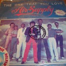Discos de vinilo: ANTIGUO DISCO SINGLE THE ONE THAT YOU LOVE AÑO 1981. Lote 4300475