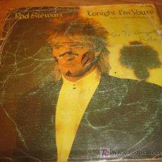 Discos de vinilo: ANTIGUO DISCO SINGLE ROD STEWART SONNY AÑO 1981. Lote 4300478