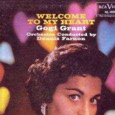 Discos de vinilo: GOGI GRANT DISCO LP WELCOME TO MY HEART VER FOTO ADICIONAL. Lote 12189156