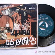 Discos de vinilo: LOS BRAVOS : BRING A LITTLE LOVIN / MAKE IT LAST. Lote 27546765