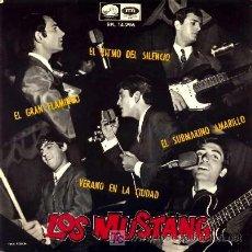 Discos de vinilo: LOS MUSTANG ··· SUBMARINO AMARILLO / EL GRAN FLAMINGO / VERANO EN LA CIUDAD / EL RITMO DEL ...- (EP). Lote 25673683